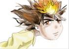 How to draw Tsunayoshi Sawada, Tsuna from Katekyo Hitman Reborn