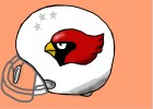 How to Draw a Cardinals Football Helmet