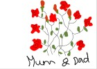 rose tattoo design mum and dad tutorial