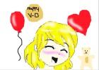 happy V-D