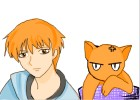 How to Draw Kyo Sohma from Fruits Basket