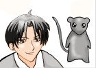 How to draw Shigure Sohma and Yuki Sohma from Fruits Basket