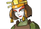 How to Draw Suki The Kyoshi Warrior from Avatar