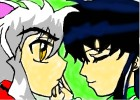 How To Draw Inuyasha And Kagome