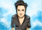 How to draw  Synyster Gates from Avenged Sevenfold