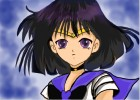 How to Draw Sailor Saturn