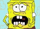 Scared Spongebob