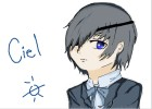How to Draw Ciel Phantomhive(Head Shot )