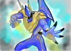 How to Draw Elemental Hero Sparkman from Yu-Gi-Oh