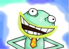 How to Draw Dr. Frog from Fish Hooks