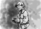 How to draw Oliver from Oliver Twist