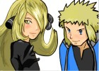 How to Draw Cynthia And Volkner from Pokemon
