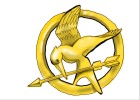 How to Draw a Mockingjay Pin from The Hunger Games