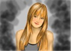 How to draw Bella Thorne from Shake It Up