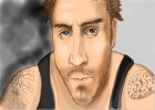How to draw David Belle from District 13