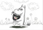 How to draw Moomin from The Moomins