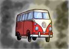 How to draw a Classic VW Camper Van