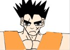 comment dessiner  yamcha de dragon ball z