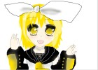 How to Draw Kagamine Rin