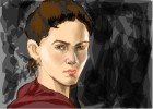 How to draw Clove from The Hunger Games