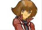 How to Draw Jaden Yuki from Yu-Gi-Oh! Gx