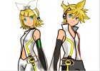 How to draw Kagamine Rin & Len of Vocaloid