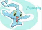 how to draw manaphy from pokemon