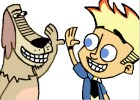 How to Draw Johnny Test And Dukey