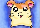 How to draw Hamtaro