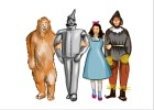 How to draw the Wizard of Oz Characters