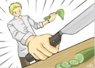 how to draw Chef Gordon Ramsay (anime)