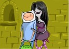 How to draw Finn and Marceline from Adventure Time