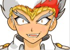 How to draw Ryuga from BeyBlade