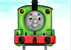 How to Draw Percy The Small Engine