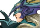 How to Draw Kain Highwind from The Final Fantasy