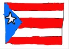How to Draw The Puerto Rican Flag