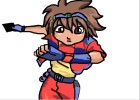 How to Draw Dan from Bakugan