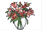 How to Draw a Vase Of Flowers