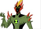 how to draw swampfire from ben 10 alien force