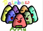 how to draw cute rice ball rainbow army