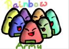 How to Draw Cute Rice Ball Rainbow Army