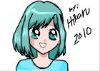 How to draw Midori from Midori no Hibi