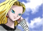 How to Draw Android 18 from Dragonball Z