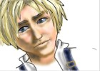 How to Draw Tidus from Final Fantasy