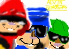 How to Draw Alvin And The Chipmunks (Gangsta)