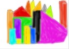 How to Draw 3D Color Buildings