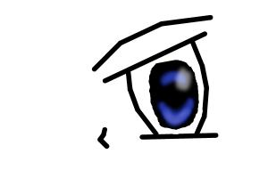 Angry Anime Eye