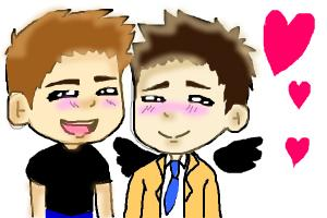 Chibi Destiel Tutorial
