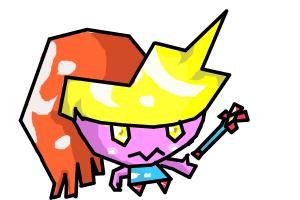 chibi tunder girl