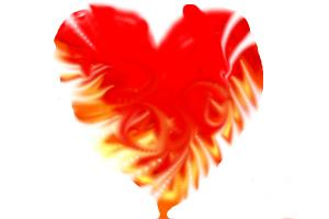 Crazy Fire Heart
